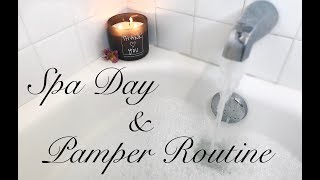 Spa Day At Home/ Pamper Routine ⇢Dejah Crooke