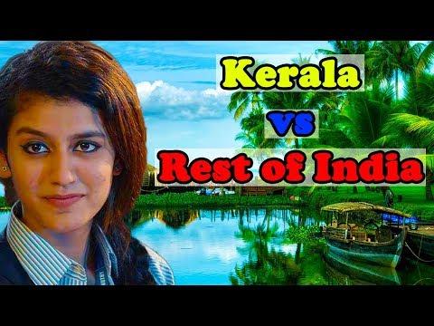 Kerala vs Rest of India (Development Comparison-2018)