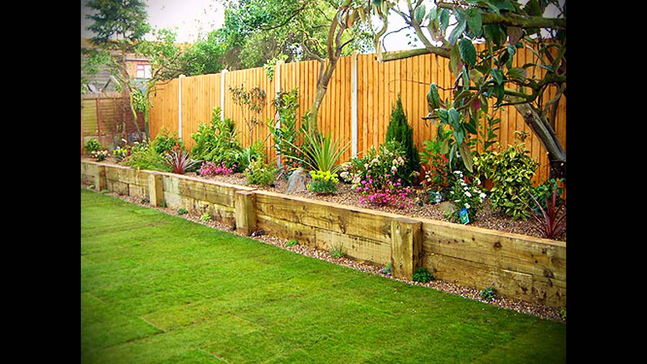 Exotic landscape garden ideas youtube for Best back garden designs