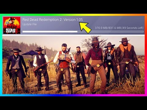 Red Dead Redemption 2 Gets A BRAND NEW Update! Red Dead Online Exploits, Fixes & MORE! (Patch 1.05)