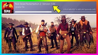 Red Dead Redemption 2 Gets A BRAND NEW Update! Red Dead Online Exploits, Fixes & MORE! (Patch 1.05) Video