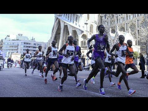 f6d4ff109c11 Barcelona Marathon 2018 - YouTube
