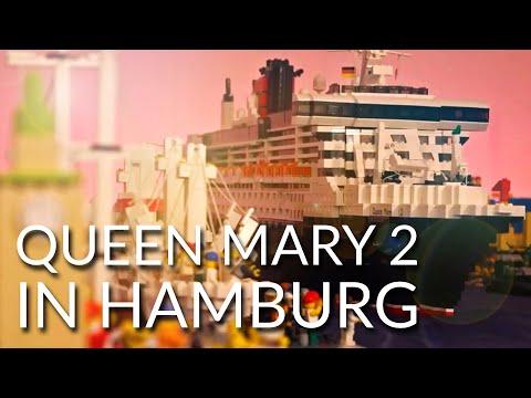 Lego 10 Years Queen Mary 2 in Hamburg