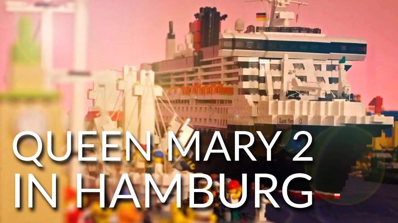 Lego: 10 Jahre Queen Mary 2 in Hamburg