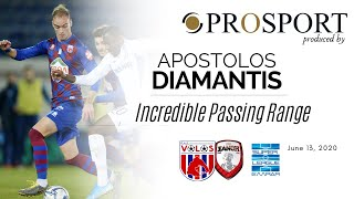 Apostolos Diamantis' Incredible Passing Range vs. Xanthi | PROSPORT.GR