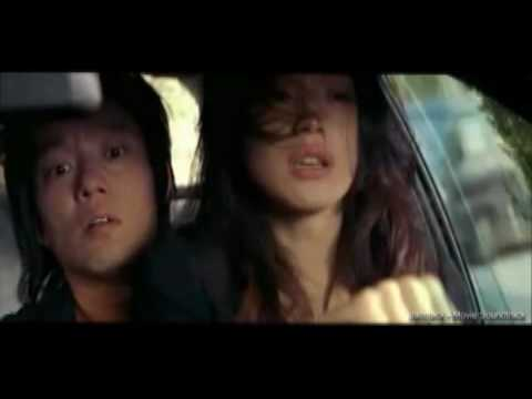 Funny car chase with Shu Qi and Beom-su Lee