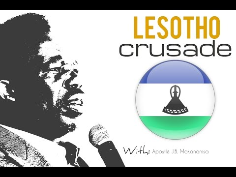 OVERVIEW LESOTHO CRUSADE 2016