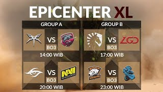 Virtus Pro Vs Newbee (BO3) Epicenter XL Group Stage Main Event Day 3