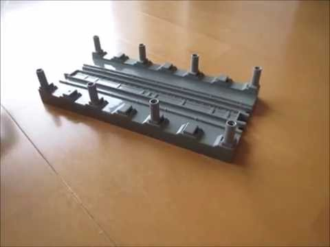 プラレールアドバンス 地下直線レールをアドバンスで使えるようにしてみた 改造