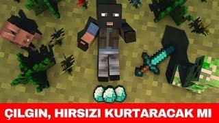 HIRSIZ VS POLİS #92 - Çılgın, Hırsızı Hapisten Kurtarıcak mı? (Minecraft)