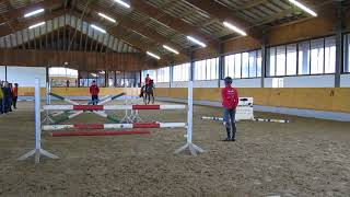 Ingrid Klimke unterrichtet, Sammy 2, offenes Training 25.01.18, Video 6