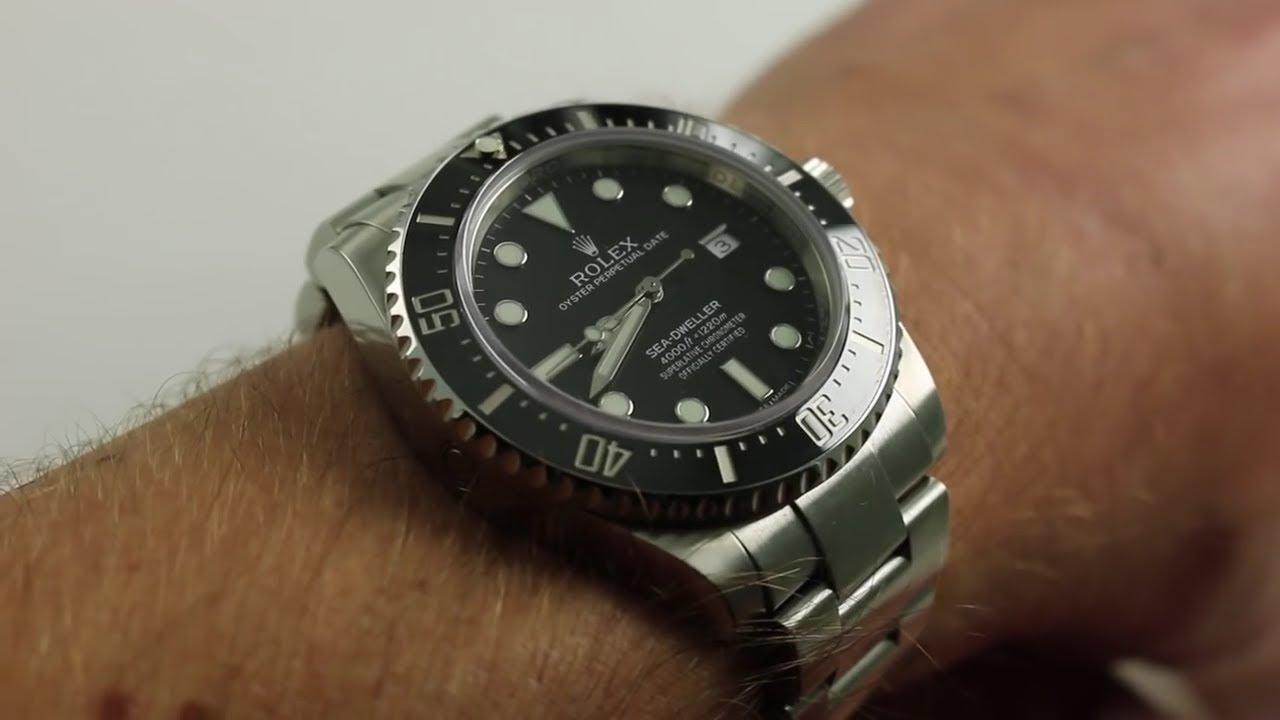 Rolex Sea Dweller 4000 Review