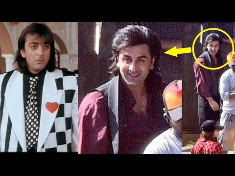 Ranbir Kapoor's Leaked First LOOK In Sanjay Dutt's Biopic