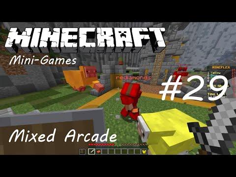 Minecraft Mini-Games #29 [Mixed Arcade] | CAPE?
