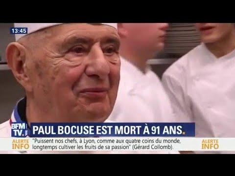 Mort du grand chef lyonnais Paul Bocuse, les étapes de son ascension