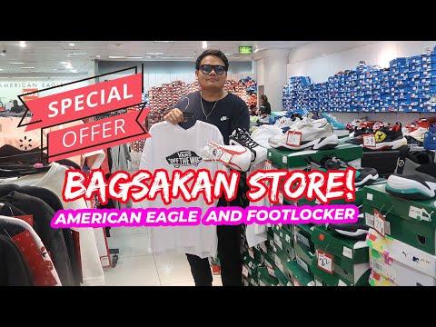 OUTLET STORE AMERICAN EAGLE AND FOOTLOCKER   BAGSAK PRESYO!