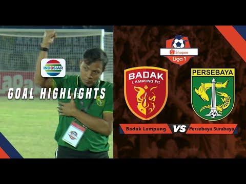 Badak Lampung FC (1) vs Persebaya Surabaya (3) - Goal Highlights | Shopee Liga 1