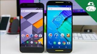 Nexus 5X vs Moto X Pure Edition