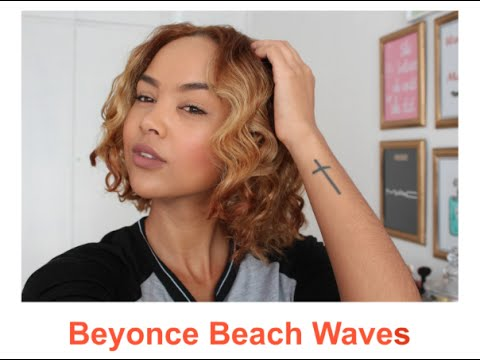 Beyonce Beach Waves | Heatless Styling | South African Beauty Blogger