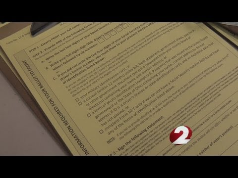 Questions about counting provisional ballots