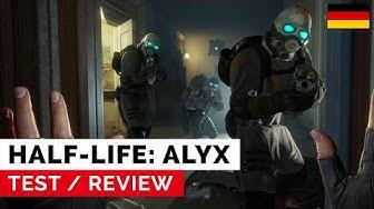 Half-Life: Alyx - Test: Die Killer-App im Bereich VR-Gaming! Aber was ist mit Half-Life 3? (DE)