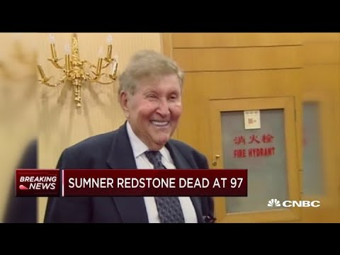 Sumner Redstone, who built media empire including CBS, dies