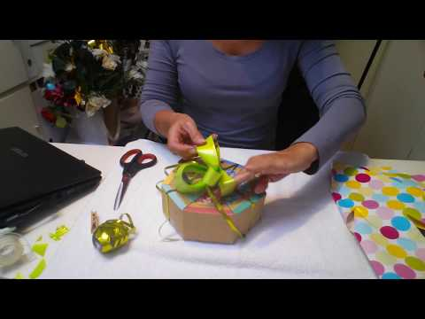 ASMR Gift Wrapping My Granddaughters 1st Birthday Present