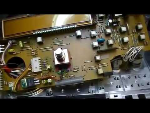 #8 Yaesu FT747;PART 2: Modification Replacement Rotary Switch- Frequency Dial