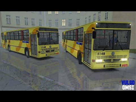 🔵[OMSI 2] Busscar Urbanus 1994 VW 16.180 CO - Chuva Forte { CAMPO GRANDE 11 }