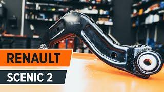 Como solucionar el problema con Barra oscilante suspensión de ruedas izquierdo y derecho RENAULT: video guía