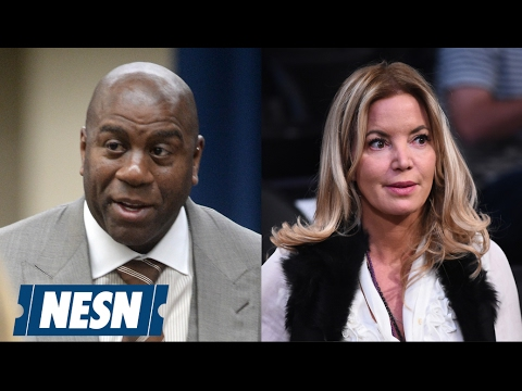 Magic Johnson Hired As Lakers' New President; Jim Buss Fired