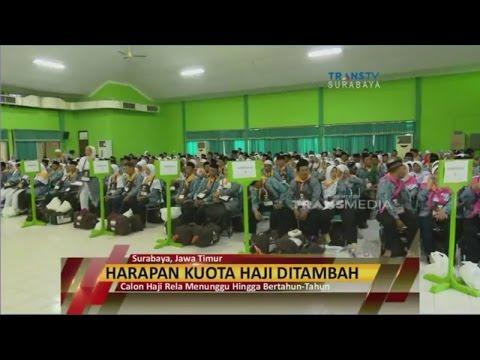 Kabar Gembira, Kuota Haji di Jawa Timur Ditambah