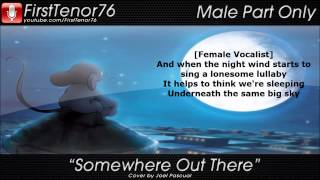Somewhere Out There - Instrumental and Male Part Only