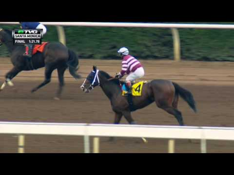 RACE REPLAY: 2016 Santa Monica Stakes