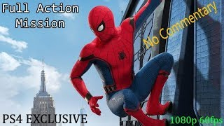 spider man ps4 15 mint full action mission gameplay