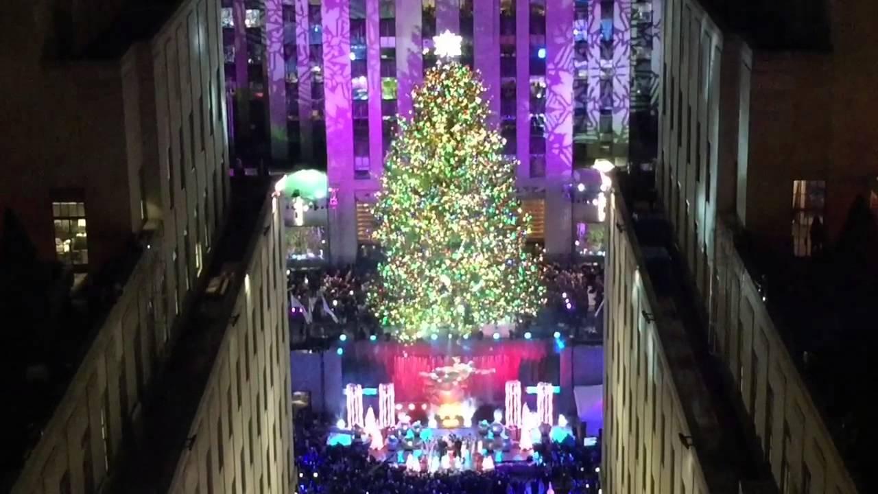 Rockefeller Center Christmas Tree Lighting 2014