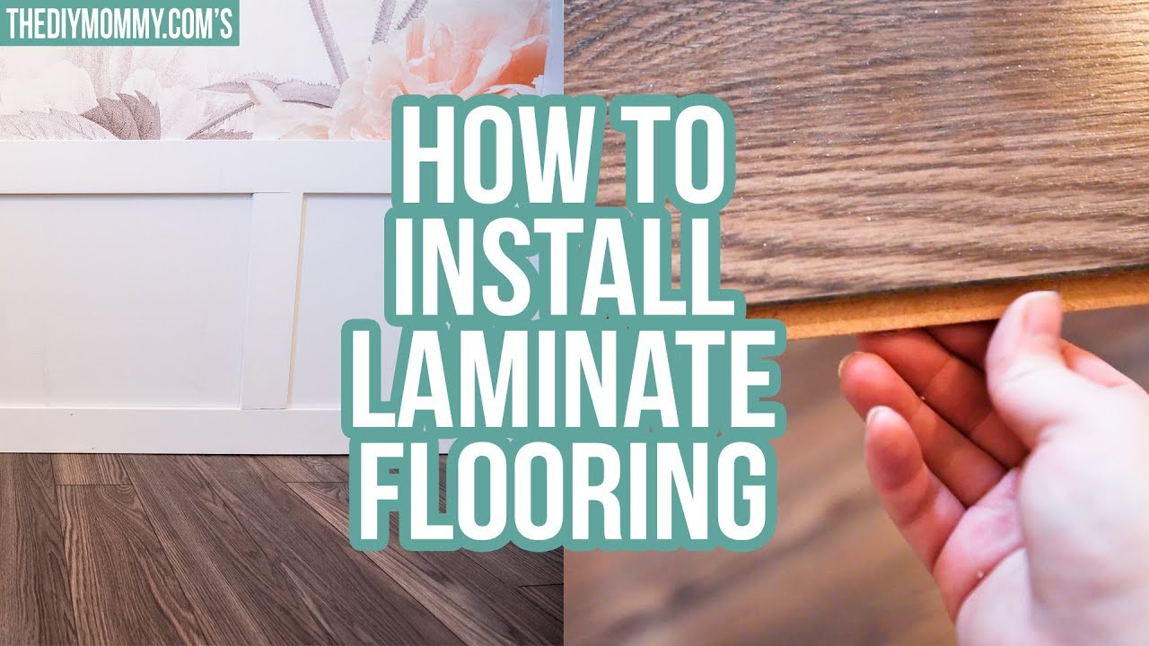How to Install Laminate Flooring (+ A Guest Bedroom Makeover Update ...
