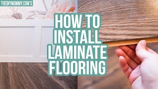 How to Install Laminate Flooring (+ A Guest Bedroom Makeover Update!)
