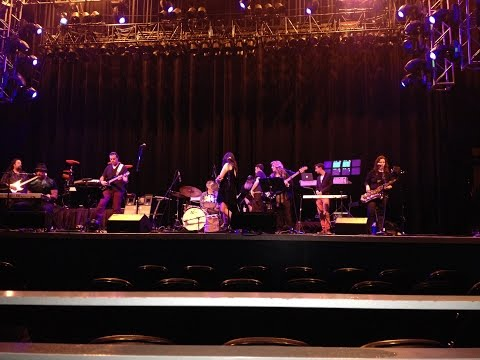Performing with Exler at the City National Grove at Anaheim, 3/5/15, opening for Howard Jones.