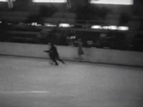 1932 Winter Olympics Figure Skating - Practice footage