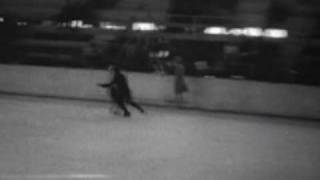 1932 Winter Olympics Figure Skating - Practice footage