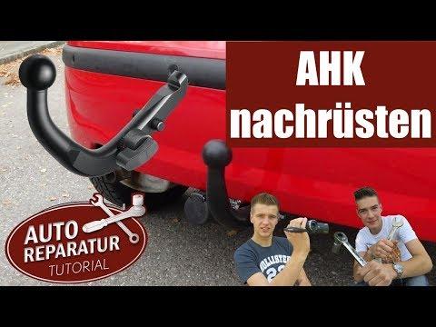 Anhängerkupplung nachrüsten | AHK Montage mit E-Satz | Anleitung | DIY Tutorial