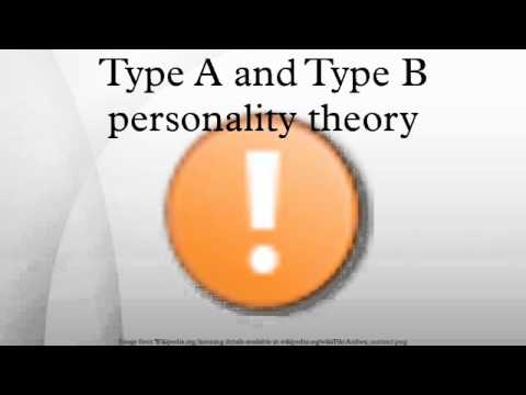 Type A and Type B personality theory