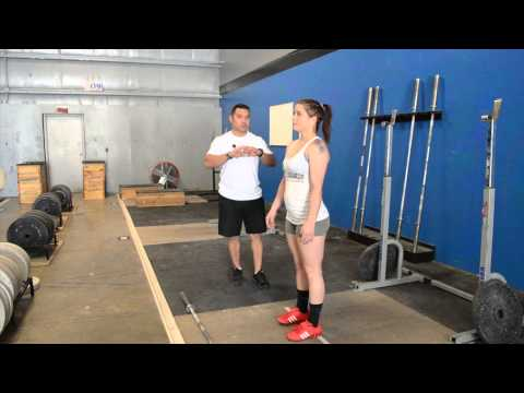 How to Teach the Split Jerk - Olympic Weightlifting with Coach Daniel Camargo