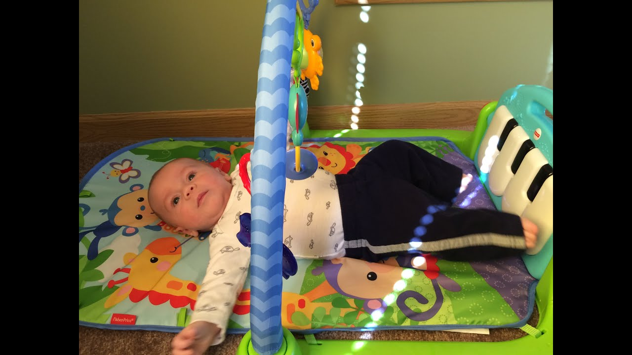 Best Baby Play Gym Review of Fisher Price Kick & Play Piano Gym