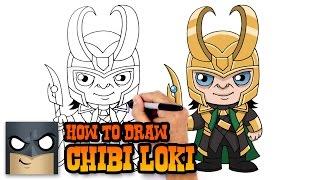 loki drawing lesson