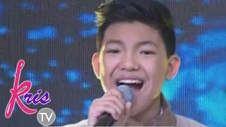 "Kris TV: Darren sing his single ""In Love Ako Sa'yo"""
