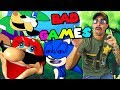BAD VIDEO GAMES! WORST INTERNET SUPER MARIO RIP OFF GAMES! FLASH GAME FAILS