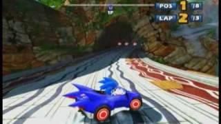 Sonic & Sega All-Stars Racing (demo) 360 - Lost Palace (Sonic)
