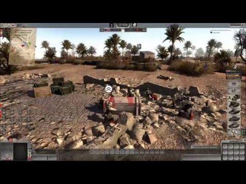 Men of War Assault Squad 2 mp battle #130: El Alamein
